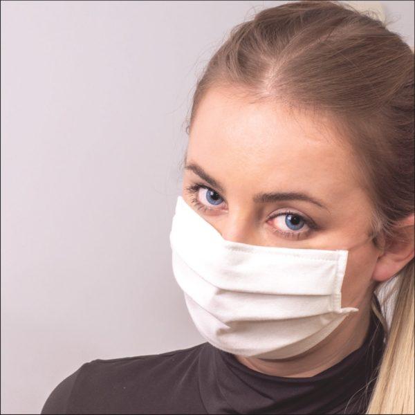 Bawełniana maska ochronna LA-3W z certyfikatem