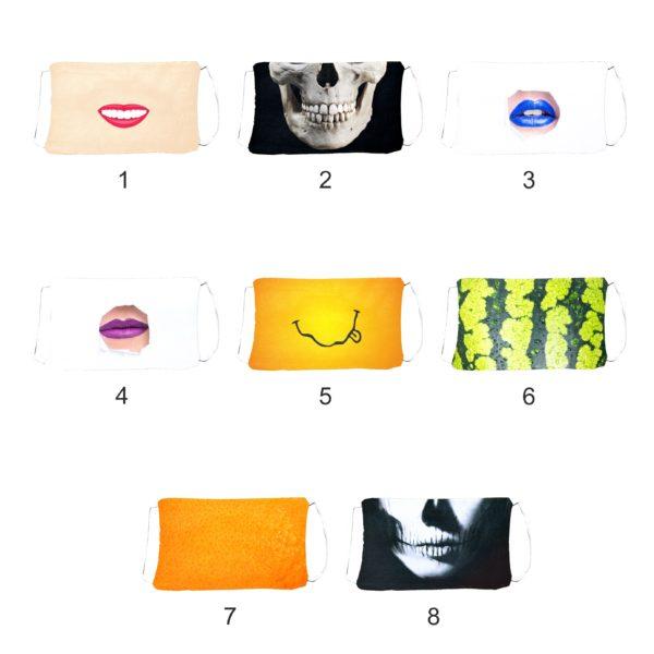 Maska ochronna z nadrukiem fullprint Basic