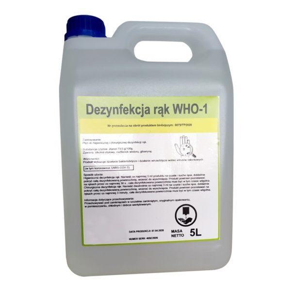 Płyn dezynfekcyjny WHO 1