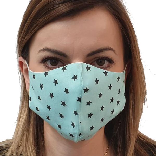 Maska bawełniana profilowana – damska