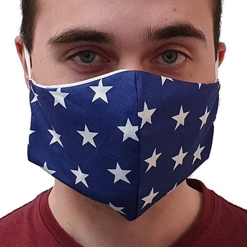 Maska bawełniana profilowana – męska