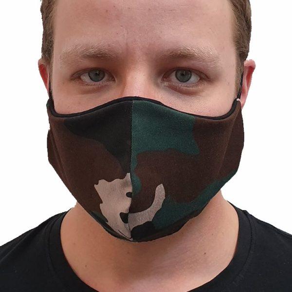 Ochronna maska bawełniana moro M-Production™ – męska