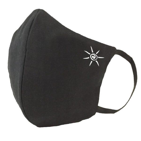 Ochronna maska bawełniana z nadrukiem – damska
