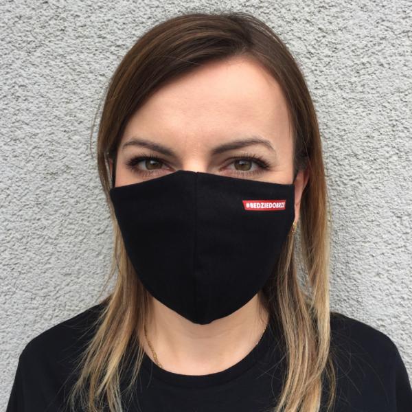 Maska Ochronna Bawełniana – #Będziedobrze