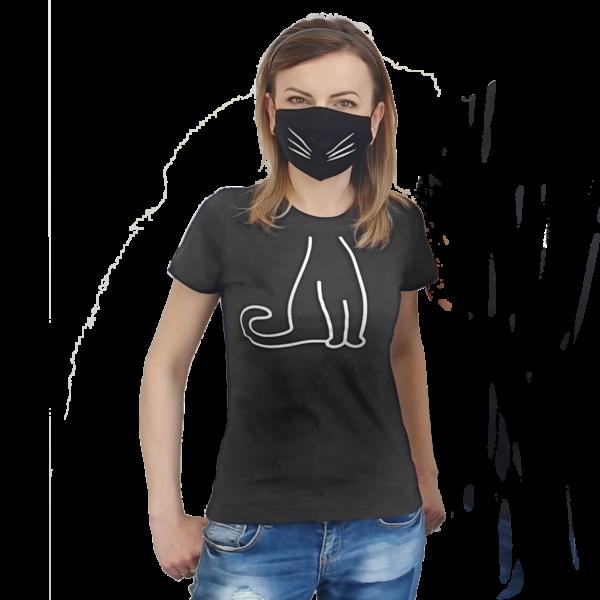 Koszulka bawełniana kot – JHK Regular Lady TSRL 150 damska