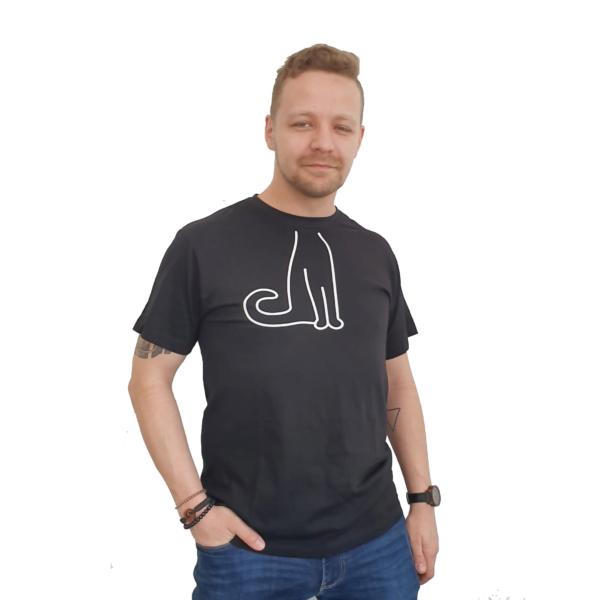 Koszulka bawełniana kot –  JHK Anniversary
